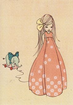 Belle & Boo illustration by Mandy Sutcliffe