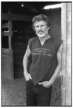 Kris Kristofferson as George he's so perfect it's actually creepy