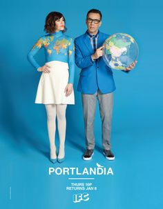 I love Carrie's outfit! 'Portlandia': See the Season 5 Posters (Exclusive) - The Hollywood Reporter