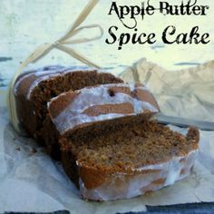 Apple Butter Spice Cake | Sugar Dish Me