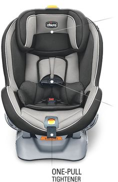 Chicco NextFit Car Seat - Front View