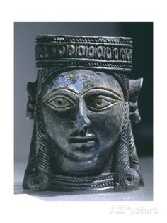 Crowned Female Head, from Nimrud Giclee Print at AllPosters.com