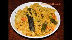 Quick Veg Biriyani recipe in Pressure cooker for beginners Indian Lunch Box, Briyani Recipe, Vegan Vegetarian, Vegetarian Recipes, Indian Food Recipes, Ethnic Recipes, South Indian Food, Lunch Box Recipes, Pressure Cooker Recipes