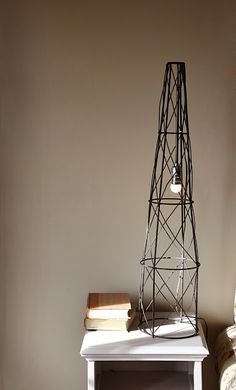 Sincerely by Ashleigh & Sarah: A DIY Industrial Lamp... For Free!