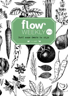 Flow Weekly #40 Dare to be different. Each Flow Weekly includes a planner and to-do lists for you to fill in for the week ahead, as well as blank pages for thoughts, ideas, notes, dreams, wishes and plans. This week's edition also features: a lesson in how to draw a bowl of summer fruits; picture frames to cut out and use; and the fifth piece of Francesca Iannaccone's poster-in-a-series about everyday objects.