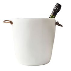 Love this handmade resin Champagne Bucket by TIna Frey  | Gifts for Cooks or a great Hostess Gift