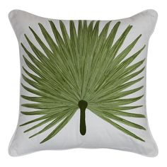 Malibu Palm Green Cushion 45x45cm