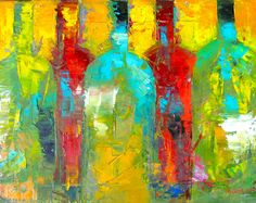 Mary Beth Gaiarin - Painting Wine Color 2
