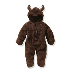 Gah...if only my son were still small enough to wear this. | Joe Fresh Baby Boys' Moose Suit