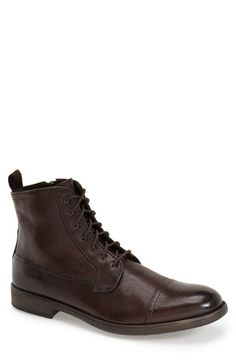 Geox 'Jaylon' Cap Toe Boot (Men) available at #Nordstrom