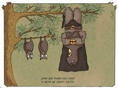 Frases, chistes, anécdotas, reflexiones, Amor y mucho más.: Chistes de superheroes, Batman y los murcielagos.