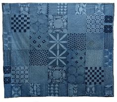 African indigo textiles - where do people find these treasures??