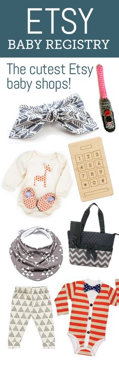 Etsy Baby Registry. The cutest baby shops on Etsy. The Mushybooks Dreamcatcher Baby Book is included! Thank you Babylist!
