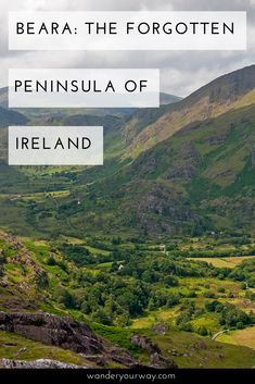 The Ring of Kerry and the Dingle Peninsula get all the press. But the Beara Peninsula is incredibly beautiful — along the coast and in the interior. And it sees less folks and NO motor coaches Click through to find out more.