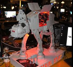 Even if your not a Star Wars fan, you have to admit this PC case mod is pretty cool! Kudos to the guy who built it.