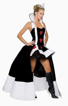 Disfraz de Reina de Corazones.