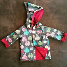 Wendejacke ❤ Babys, Sewing For Kids, Jackets, Babies, Baby, Infants, Baby Baby, Human Babies, Children
