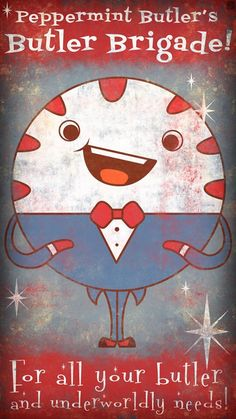 Peppermint Butler Fall Out ad - Adventure Time