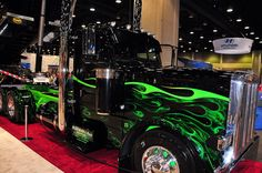 Semi truck...Nice wouldn't know how to drive one but this is plain cool!!