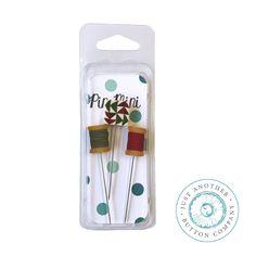 Pin-Mini: Quilty #handmade #pins #pincushions #pinminis #justanotherbuttoncompany