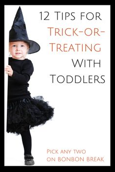 12 Tips for Trick-or-Treating With Toddlers - these Halloween tips will keep your little ghouls and witches happy (and their parents!) on Halloween night