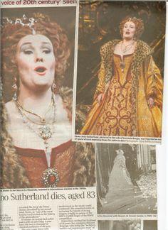 Dame Joan remembered as Lucrezia