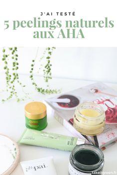J'ai testé 5 peelings aux acides de fruits (AHA) naturels ! Make Up, Fruit, Beauty, Glamour, Lifestyle, Pai, Day Makeup, Organic Makeup, Natural Makeup