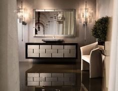Designer Italian Bathroom Vanity & Luxury Bathroom Vanities Nella Impressive Bathroom Vanities Luxury Review