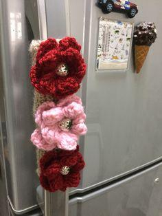 1000 Images About Crochet Fridge Handle On Pinterest
