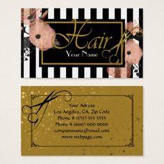 Hair salon Business Card - artists unique special customize presents