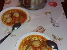 Gölődin leves   Gyöngyi 💇♀️ receptje - Cookpad receptek Pudding, Desserts, Food, Tailgate Desserts, Deserts, Custard Pudding, Essen, Puddings, Postres