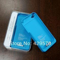 1900mAh Travel External Backup Battery Charger Case Cover For iPhone 4 iPhone 4G iPhone 4S (50pcs) $342.50