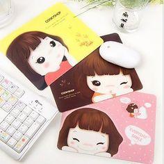 New Cute Korea Cookyshop Girl Mouse Pad 22.3cm x 17.8cm