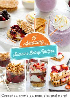 15 Amazing Summer Berry Recipes | My Baking Addiction