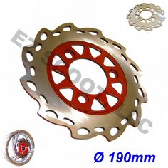 "Wave Brake Disk Rotor Scooter 190mm 7 48"" 50 150cc Scooter Moped ATV Quad GY6 