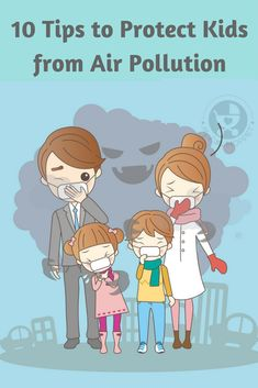 With air pollution becoming a major menace in our country, it's important to be aware. Here are 10 Tips to protect kids from air pollution of all kinds. Air Pollution Facts, Air Pollution Project, Air Pollution Poster, Pollution Environment, Environmental Pollution, Environmental Health, Drawing For Kids, Activities For Kids, Children