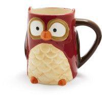 Sur La Table - Ceramic Owl Mug