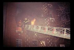 March 24, 1975 2nd Alarm 476 Clinton Ave. Brooklyn FDNY Box 22-0626