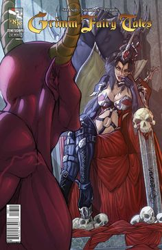 Grimm Fairy Tales #88 - The Dark Queen (Issue)