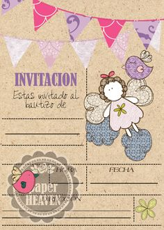Letters For Kids, Borders For Paper, Alice, Ideas Para Fiestas, Paper Frames, All Paper, First Communion, Card Making, Happy Birthday