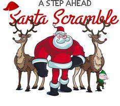 A Step Ahead: Santa Scramble