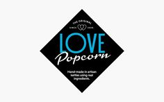 LOVE Popcorn on Packaging of the World - Creative Package Design Gallery