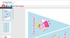 Kit de fiesta Peppa Pig {Descarga gratuíta}