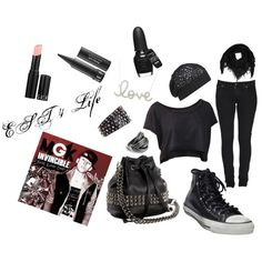 EST 4 Life, created by mcgowanite on Polyvore totally adorable. #MGK # LaceUp