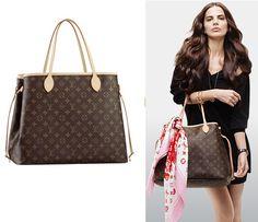 Louis Vuitton Neverfull Handbag - Only $235.99!