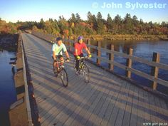 prince edward island wallpaper   Biking the Trail
