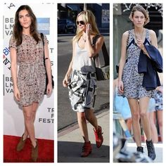 Fire Ant Friendly Fashion for summer - dresses with boots!