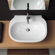 newform washbasin white with 1 tap hole