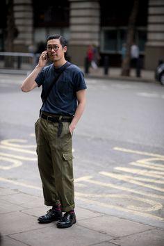 London Fashion Week Men's street style SS18 | British GQ