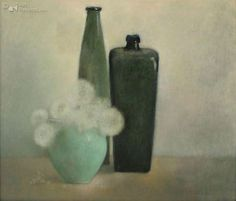 Pieter Knorr Soft Colors, Colours, Food Illustrations, Flower Art, Still Life, Aqua, Objects, Neon, Contemporary